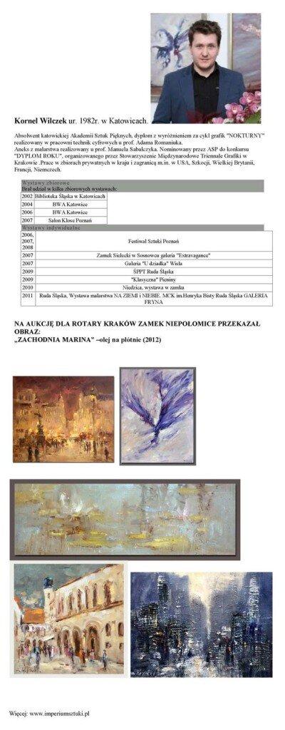 Aukcja_Kornel Wilczek